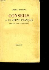 Conseils A Un Jeune Francais Partant Pour L'Angleterre - Couverture - Format classique