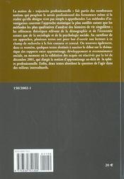 Tests De Recrutement 2001 - 4ème de couverture - Format classique