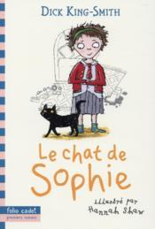 Le chat de Sophie - Couverture - Format classique
