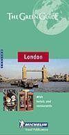 Guide vert londres - anglais - Couverture - Format classique
