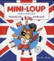 Mini-Loup ; mon imagier français/anglais - Couverture - Format classique