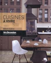 Cuisines à vivre - Couverture - Format classique