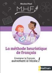 Méthode heuristique de français ; guide de la méthode (édition 2020) - Couverture - Format classique