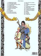 Thorgal T.7 ; l'enfant des étoiles - 4ème de couverture - Format classique