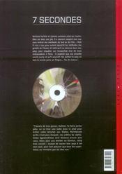 7 secondes t.4 ; guillot - 4ème de couverture - Format classique