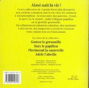 Florimond La Sauterelle - 4ème de couverture - Format classique