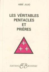 Les veritables pentacles et prieres - Couverture - Format classique