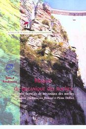 Manuel de mécanique des roches - Intérieur - Format classique
