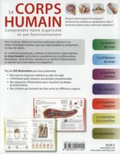 Le corps humain ; comprendre notre organisme et son fonctionnement (2e édition) - 4ème de couverture - Format classique