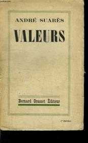 Valeurs. - Couverture - Format classique