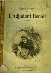 L'Adjudant Benoit. Collection Modern Bibliotheque. - Couverture - Format classique