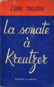 La Sonate A Kreutzer - Couverture - Format classique