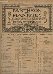Oeuvres Pour Piano - N° 43 : Ma Barque Legere, Air De Gretry. - Couverture - Format classique