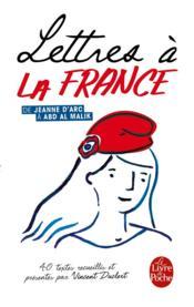 Lettres à la France - Couverture - Format classique