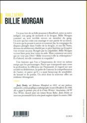 Billie Morgan - 4ème de couverture - Format classique