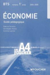 Economie - Couverture - Format classique