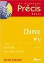 Chimie ; PTSI - Intérieur - Format classique