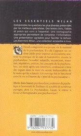 Freud et l'inconscient - 4ème de couverture - Format classique