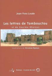 Les lettres de tombouctou et de gourma rharous - Couverture - Format classique