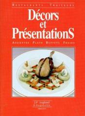 Décors et présentations ; assiettes, plats, buffets froids - Couverture - Format classique