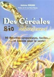 Des céréales bio naturellement - Intérieur - Format classique