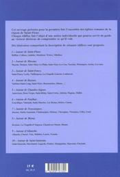 Églises romanes de Haute-Auvergne t.3 ; région de Saint-Flour - 4ème de couverture - Format classique