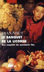 Le banquet de la licorne - Couverture - Format classique