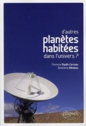 D'autres planètes habitées dans l'univers ? - Couverture - Format classique
