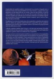 D'autres planètes habitées dans l'univers ? - 4ème de couverture - Format classique