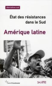 Amérique latine ; état des résistances dans le Sud - Couverture - Format classique