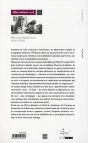 Amérique latine ; état des résistances dans le Sud - 4ème de couverture - Format classique