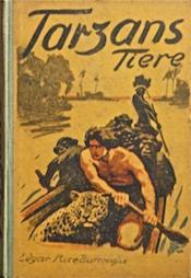 Tarzans Tiere [Tarzan et ses fauves] - Couverture - Format classique