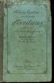 Choix Gradue De 50 Sortes D'Ecritures Pour Exercer Les Enfants A La Lecture Des Manuscrits - Couverture - Format classique