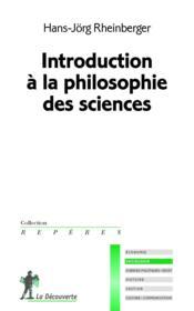 Introduction à la philosophie des sciences - Couverture - Format classique