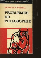 Probleme De Philosophie - Couverture - Format classique