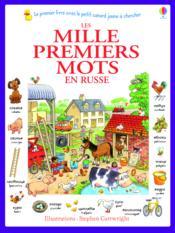 Les mille premiers mots en russe - Couverture - Format classique