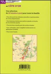 Côte d'Or - 4ème de couverture - Format classique