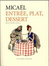 Entrée, plat, dessert - Couverture - Format classique