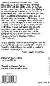 Love - 4ème de couverture - Format classique