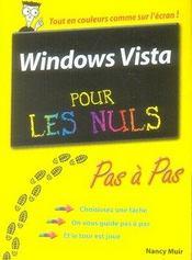 Windows vista pas a pas pour les nuls - Intérieur - Format classique