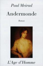 Andermonde - Couverture - Format classique