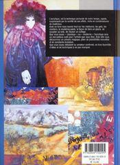 Acrylique Techniques Et Matieres - 4ème de couverture - Format classique