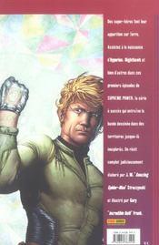 Supreme power t.1 ; contact - 4ème de couverture - Format classique