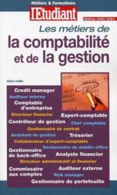 Metiers & formations de la comptabilite et de la gestion - Couverture - Format classique