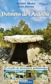 Dolmens de l'Ardèche - Couverture - Format classique
