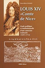 Louis xiv comte de nice - Couverture - Format classique
