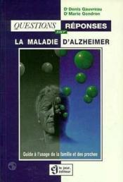 Questions reponses sur la maladie d'alzheimer - Couverture - Format classique