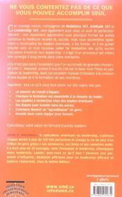 Formation 101 principes de base - ce que tout learder devrait savoir - 4ème de couverture - Format classique