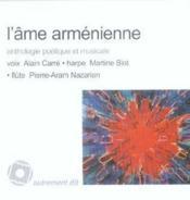 L'âme arménienne - Couverture - Format classique