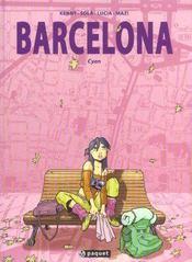 Barcelona t1 cyan - Intérieur - Format classique